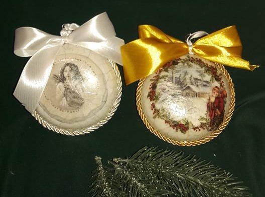 Meghívó karácsonyfadísz készítésre