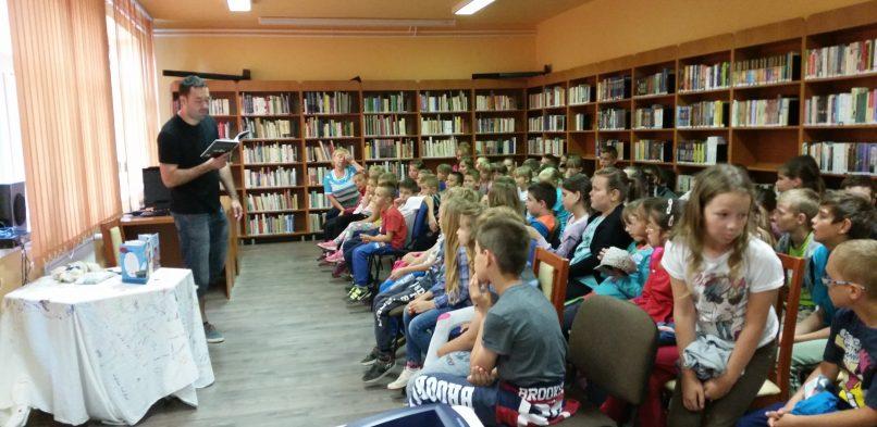 Író-olvasó találkozó Vig Balázzsal