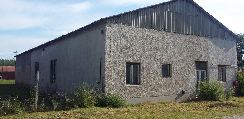 Helyi termékek piacra jutását segítő épület kialakítás Apagy községben első szakasz