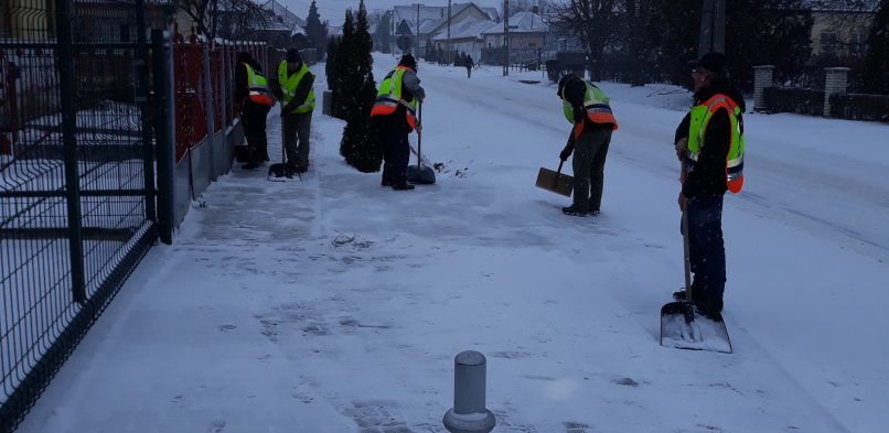 Januárban is munkában a polgárőrök